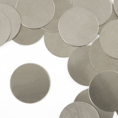 "Circle, 1""- Stamping Blank - Aluminum, 20g (24pc)"