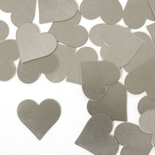 "Heart, 3/4""- Stamping Blank - Aluminum, 20g(24pc)"