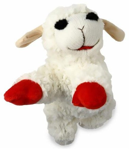 "Multipet Lamb Chop Plush Dog Toy 10"" LARGE"