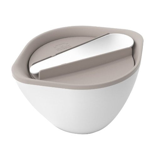 Monbento Lid Bowl Grey/white