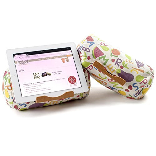 Lap Log Classic- iPad Stand / Touchscreen Tablet Holder (Kids Plate)