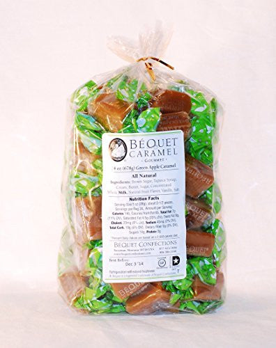 Bequet Gourmet Caramel - 24oz (Green Apple)