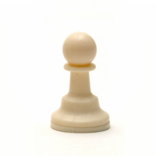 Tournament Staunton Replacement Chess Piece - Heavy Weighted Light Pawn - Matches ASIN B0021YTDO2