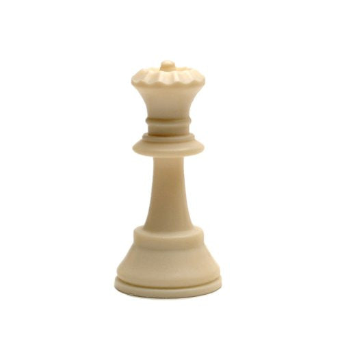 Tournament Staunton Replacement Chess Piece - Heavy Weighted Light Queen - Matches ASIN B0021YTDO2