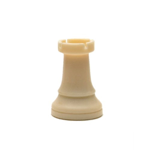 Tournament Staunton Replacement Chess Piece - Heavy Weighted Light Rook - Matches ASIN B0021YTDO2