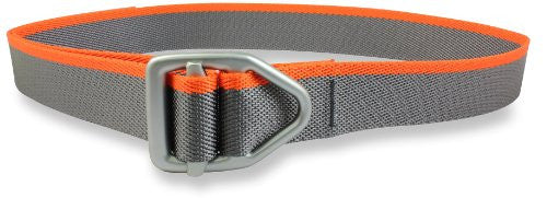 38mm - Last Chance Light Duty Black Buckle - Graphite Orange