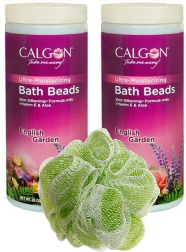 English Garden Ultra-Moisturizing Bath Beads 26 oz Jar