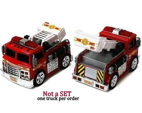 "Chubby Champs - Fire Engine (4.75"", Red)"