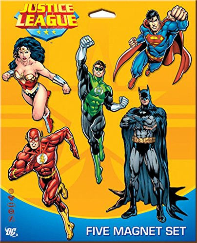 JUSTICE LEAGUE FIVE PACK