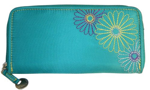 Travelon Luggage Rfid Blocking Ladies Wallet,One Size,Teal