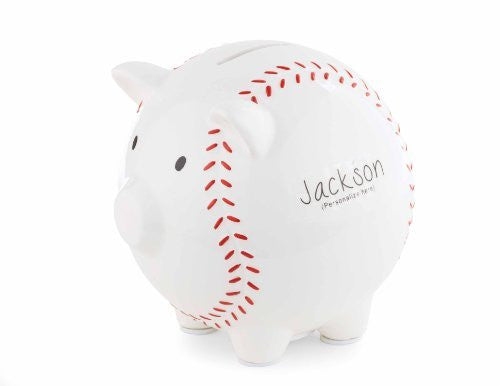 Personalizable Baseball Bank