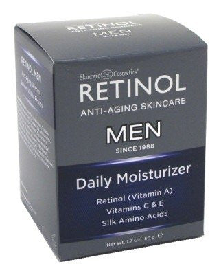 Retinol Daily Moisturizer for Men, 1.7 Fluid Ounce
