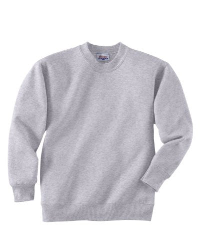 Hanes Youth ComfortBlend Long Sleeve Fleece Crew - p360 (Ash / Small)