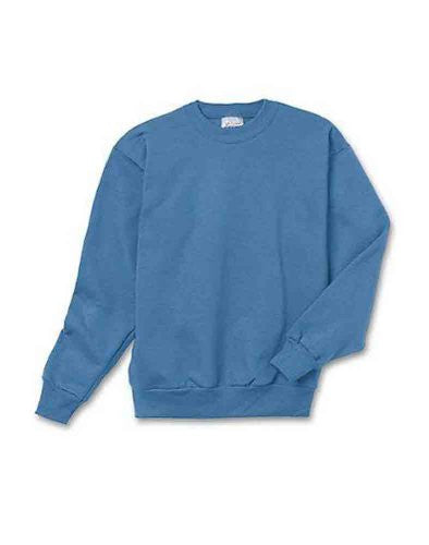 Hanes Youth ComfortBlend Long Sleeve Fleece Crew - p360 (Denim Blue / X-Small)
