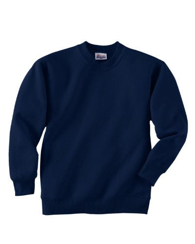 Hanes Youth ComfortBlend Long Sleeve Fleece Crew - p360 (Navy / Small)