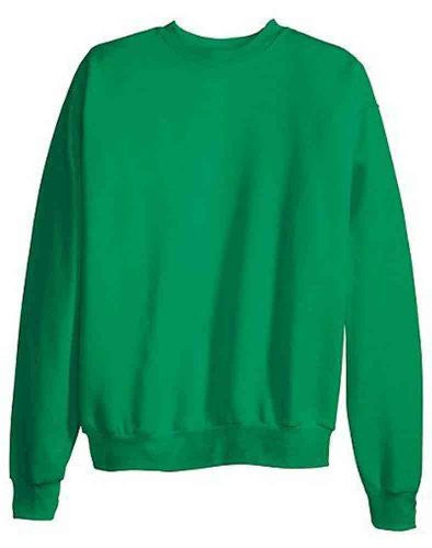 Hanes ComfortBlend Long Sleeve Fleece Crew - p160 (Kelly Green / X-Large)