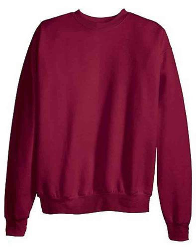 Hanes ComfortBlend Long Sleeve Fleece Crew - p160 (Cardinal / Medium)