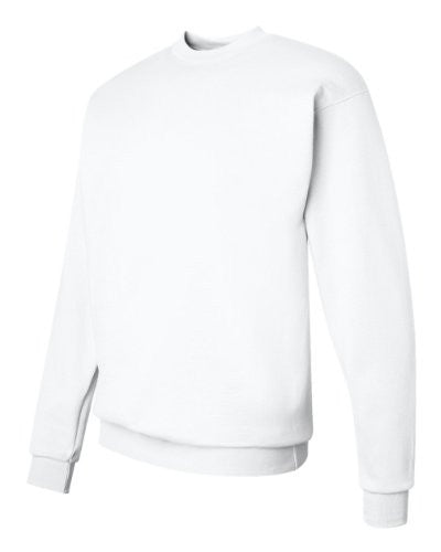 Hanes ComfortBlend Long Sleeve Fleece Crew - p160 (White / Small)