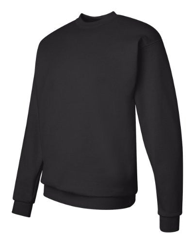 Hanes ComfortBlend Long Sleeve Fleece Crew - p160 (Black / X-Large)