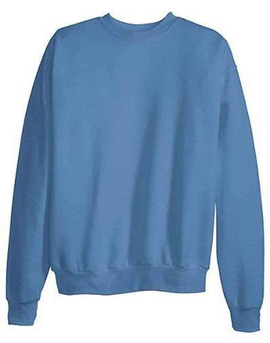 Hanes ComfortBlend Long Sleeve Fleece Crew - p160 (Denim Blue / Medium)