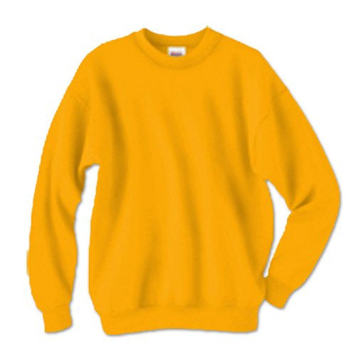 Hanes ComfortBlend Long Sleeve Fleece Crew - p160 (Gold / XX-Large)