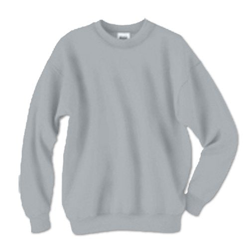 Hanes ComfortBlend Long Sleeve Fleece Crew - p160 (Light Steel / X-Large)
