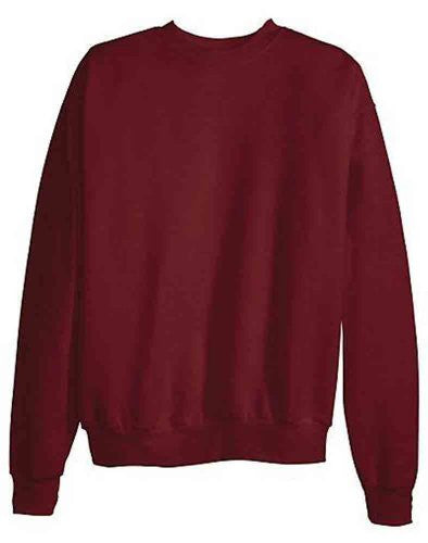 Hanes ComfortBlend Long Sleeve Fleece Crew - p160 (Maroon / Small)