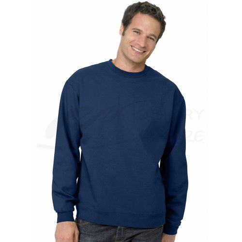 Hanes ComfortBlend Long Sleeve Fleece Crew - p160 (Navy / XX-Large)