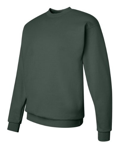 Hanes ComfortBlend Long Sleeve Fleece Crew - p160 (Deep Forest / XXX-Large)