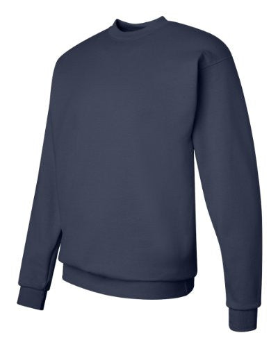 Hanes ComfortBlend Long Sleeve Fleece Crew - p160 (Deep Royal / Small)
