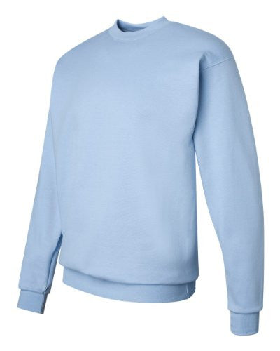 Hanes ComfortBlend Long Sleeve Fleece Crew - p160 (Light Blue / XX-Large)