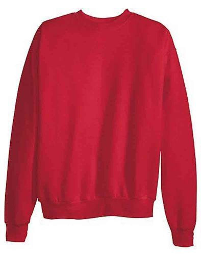 Hanes ComfortBlend Long Sleeve Fleece Crew - p160 (Deep Red / X-Large)