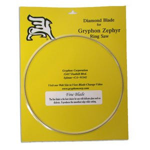 Zephyr Replacement Fine Diamond Blade, 7""