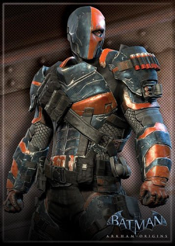 Batman Origins Deathstroke - PHOTO MAGNET 2 1/2 in. x 3 1/2 in.