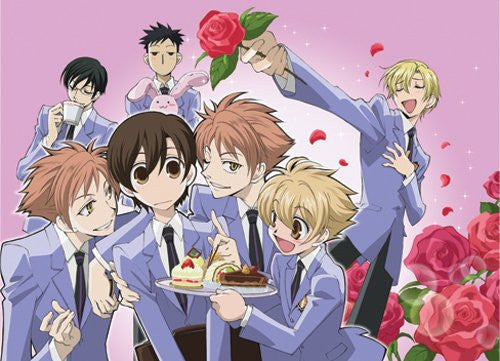 Ouran High School Host Club Group Dessert Fabric Poster