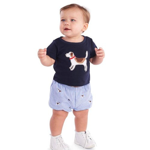 Little Buddy Puppy Diaper Cover Set,9-12 Months
