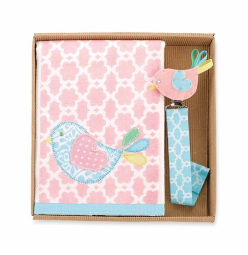 Little Chick Burp & Pacy Clip Set