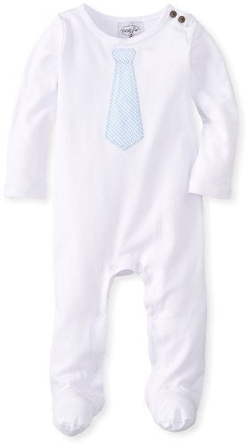 Sunday Best Tie One-Piece - 0-6 MONTHS