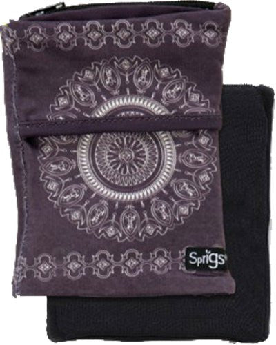 Sprigs Big Banjee Wrist Wallet (Batik Slate Grey / One Size)