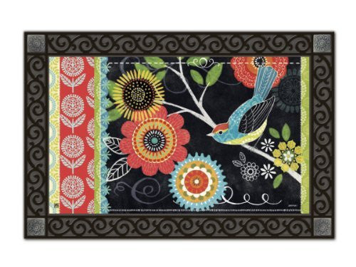 "Boho Birds Mat Mate, 18"" x 30"""
