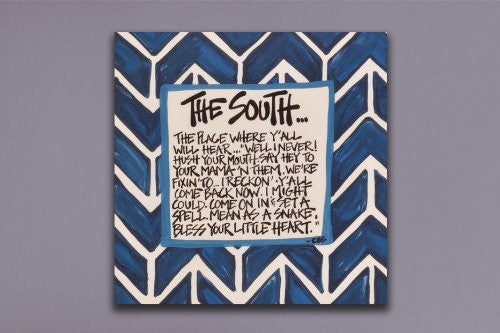 the south blue 10X10