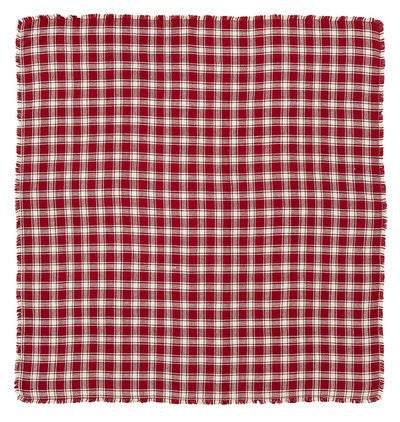 Breckenridge Shower Curtain Burlap Plaid Unlined 72x72""