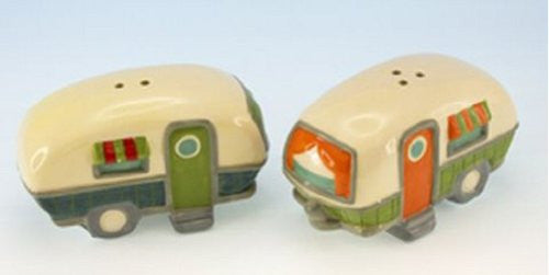 Camper Design Salt and Pepper Shaker Set
