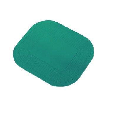"Dycem non-slip rectangularpad, 10"" x 14"", forest green"