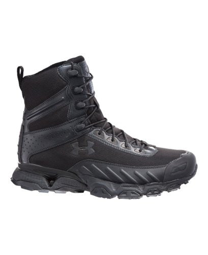 "Under Armour Men's UA Valsetz 7"" Tactical Boots - Wide (2E) 8.5 Black"