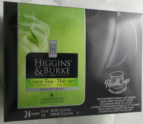 Higgins & Burke, Green Tea with Lemongrass