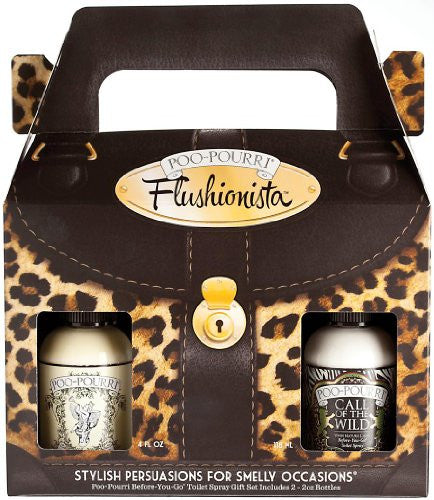 Flushionista Women's Gift Set with 2oz Original & 2oz Call of the Wild