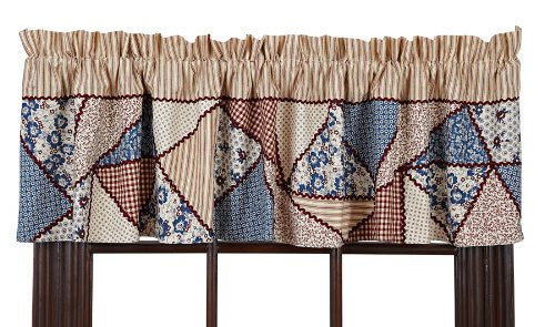 Millie Valance Patchwork Lined 16x72""