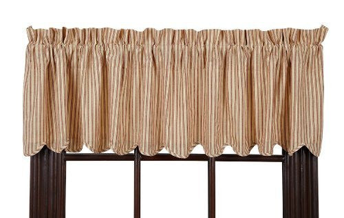 Millie Valance Scalloped Lined 16x72""