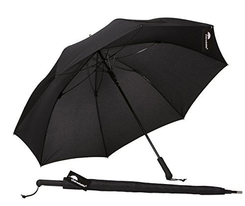 The Unbreakable® Walking-Stick Umbrella, Standard Model U-111 (fiberglass ribs)